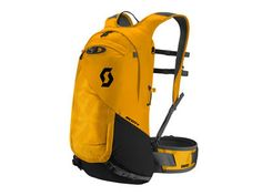 SCOTT Backpack Pack Trail Protect FR 16 | citrus yellow/caviar black