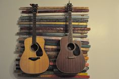 guitars on wall living room - Google Search