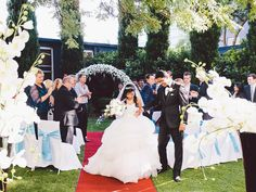 Garden ceremony | Melbourne weddings | Garden wedding