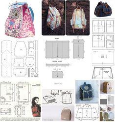 1 million+ Stunning Free Images to Use Anywhere Denim Backpack, Denim Bag, How To Make Clothes, Diy Clothes, Diy Projects To Try, Sewing Projects, Mochila Jeans, Drawstring Bag Tutorials, Crochet Mandala Pattern