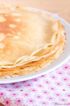 Crêpes sans gluten et lactose