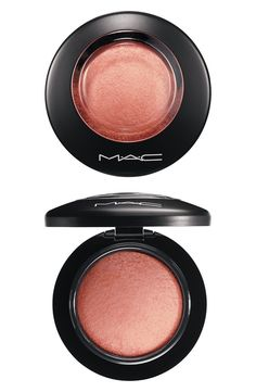 Love this shimmery mineral Mac blush.