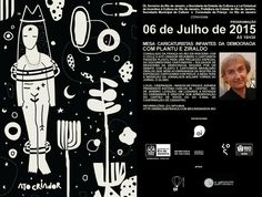 Agenda Cultural RJ: CARICATURISTAS INFANTES DA DEMOCRACIA com Plantu e...