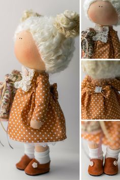 Cloth doll, rag doll, interior doll, decor doll handmade