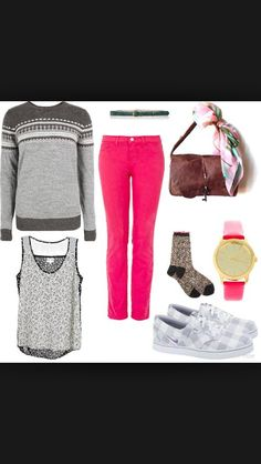 Cozy sweater outfit