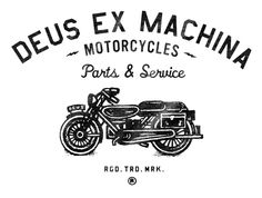 Deus Ex Machina. All these have a weird, far too spaced out kerning, but you get the idea.