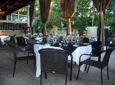 Cha Bella: PATIO @ CHA-BELLA- Rehearsal Dinner location