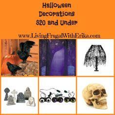 Halloween decorations under $20