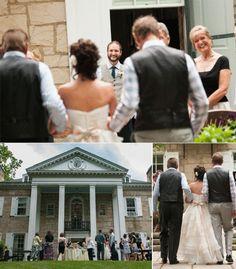 Beautiful, Small, and Intimate Ohio Wedding at Lantern Court