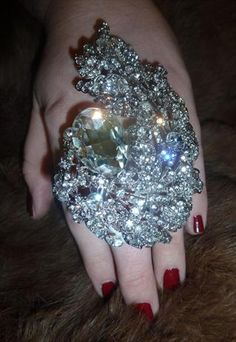 only a statement if it's all read diamonds!