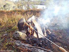 Marias Matglede ♥: Kosemat på bålet Norwegian Food, Firewood, Bbq, Vegetarian, Barbecue, Woodburning, Barbacoa, Wood Fuel