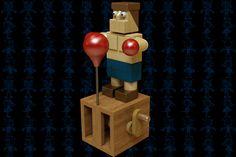 Kid Pishton II Wooden Toy - Autodesk 3ds Max,STEP / IGES,SOLIDWORKS,Parasolid - 3D CAD model - GrabCAD