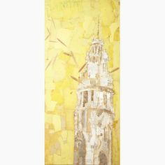 Fernando Alday, Viento Zen, 2010, Mixed media on canvas, 51 x 23 ½ inches