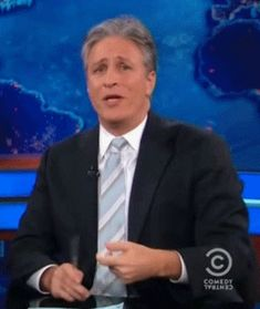 """And on Wednesday's """"The Daily Show,"""" Jon Stewart posit. Jon Stewart, The Daily Show, Show Video, Ten, Make Me Smile, In This Moment, Humor, History, Learning"""