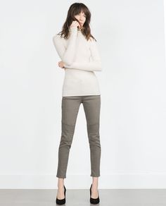 BIKER TROUSERS-View all-Woman-NEW IN | ZARA United States