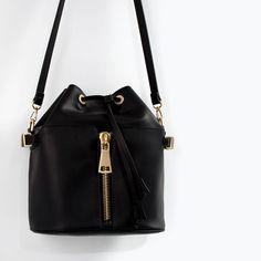 Image 5 of ZIPPED BUCKET BAG from Zara