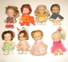 pee wee dolls...we used to make little clothes for them!