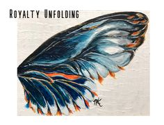 Royalty Unfolding Watercolor Tattoo, Royalty, Wings, Canvas Prints, Butterfly, Gallery, Art Work, Painting, Inspiration