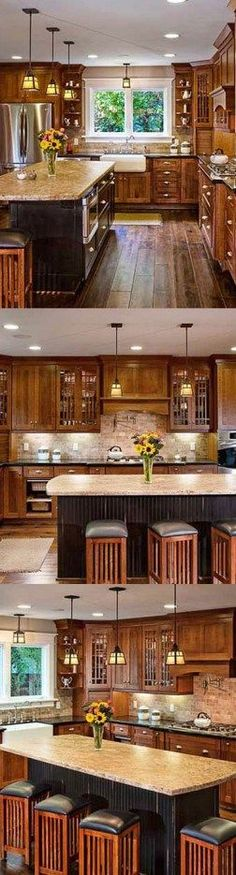 101 awesome craftsman kitchen design ideas (79)