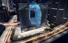 zaha hadid: the opus building ME by melia hotel, dubai