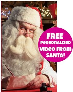 FREE Personalized Video From Santa!