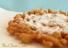 Funnel Cake (Easy & Homemade)