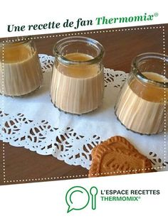 Crèmes dessert au spéculoos Dessert creams with speculoos by Mieumieu. A fan recipe to find in the category Desserts & Sweets on www.espace-recett …, from Thermomix®. Meringue Desserts, Brownie Desserts, Cheesecake Desserts, Chocolate Desserts, Quick Dessert Recipes, Quick Easy Desserts, Easy Cake Recipes, Meat Recipes, Creme Dessert Thermomix
