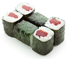 Classic Roll Instructions:    Place the Nori on the Mat Rough Side Up. Place a handful of Rice ontop and spread all over except 2cm of the top. Place Fillings along one Edge. Roll the Mat Tightly. Cut with a Wet Knife.
