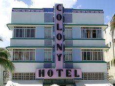 #South Beach Miami Art Deco District