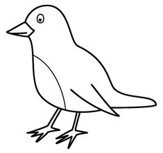 100% Free Bird Coloring Pages. Color in this picture of a