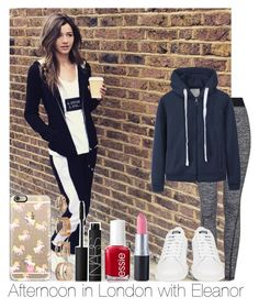 """Afternoon In London With Eleanor"" by hazzgirl03 ❤ liked on Polyvore featuring uroda, Topshop, Casetify, Forever 21, adidas, Essie i NARS Cosmetics"
