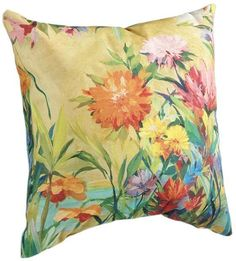 """20"""" Square Indoor/Outdoor Throw Pillow"""