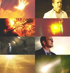 Sun || Phil Coulson || Agents of S.H.I.E.L.D. Elementals AU by jmmasmmmns on tumblr || 500px × 520px || #fanedit #au