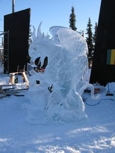 ice art - Google Search Ice Art, Snow Sculptures, Snow Art, Art Pictures, Photos, Snow And Ice, Its Cold Outside, Art Google, Google Search