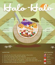 Halo-Halo illustration