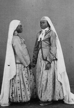 Deux femmes de Médéa Algerie, 1860