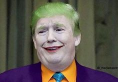 Donald Trump The Joker Latest Donald Trump The Joker meme template to create a funny meme in seconds. Create and share your memes online. Online Meme Generator to caption most viral memes or upload your pictures to make custom memes. Memes Humor, Funny Jokes, Humor Humour, Donald Trump, Trump Karikatur, Ghetto Red Hot, Haha, Fresh Memes, Jokes