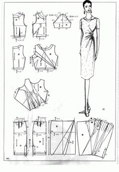 Chinese method of pattern making- Dresses, dresses,dresses ( beginning from the 80s) - SSvetLanaV - Picasa Webalbums