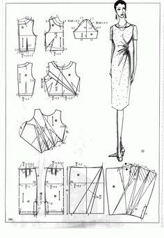 Chinese method of pattern making- Dresses, dresses,dresses ( beginning from the 80s) - SSvetLanaV - Picasa Webalbums