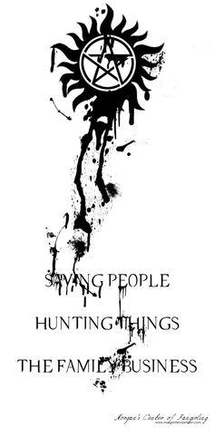 Supernatural Bookmark by Morgan FJ great tattoo idea! Supernatural Wallpaper Iphone, Supernatural Background, Supernatural Drawings, Supernatural Tattoo, Supernatural Bloopers, Supernatural Imagines, Supernatural Fandom, Supernatural Symbols, Castiel