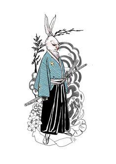 Usagi Yojimbo by Godfrey Escota *