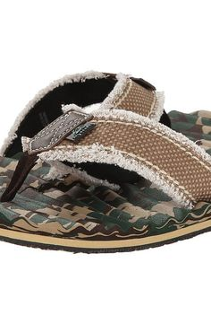 M&F Western Textured Footbed Flip Flop (Camo) Men's Sandals - M&F Western, Textured Footbed Flip Flop, 54210222, Footwear Open Casual Sandal, Casual Sandal, Open Footwear, Footwear, Shoes, Gift - Outfit Ideas And Street Style 2017