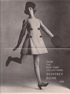 Bramson VOGUE Sept 68 - Geoffrey Beene Gosh, women's fashion was so much fun!