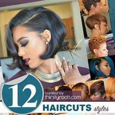 12 Stunning Haircuts by @anthonycuts #thirstyroots  SEE MORE: http://thirstyroots.com/12-stunning-haircuts-for-black-women.html
