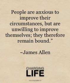 James Allen Quote. Learning this the hard way. How many of us see this? www.facebook.com/loveswish