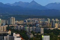 The city and the mountains.