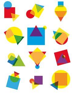 shapes composition 3 / della Абстрактное Геометрические фигуры Композиторское искусство