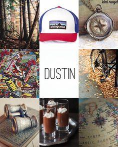 Dustin aesthetic