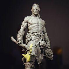 Lozza, the kings butcher More info i Character Modeling, Character Art, Character Design, Sculpture Clay, Sculptures, Anatomy Sculpture, 3d Artwork, Fantasy Miniatures, 3d Prints