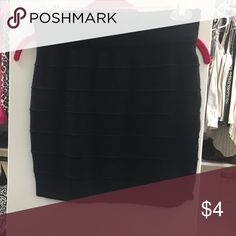 Black mini skirt Black mini skirt Skirts Mini